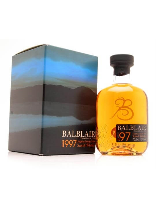 Balblair 1997 / First Release Highland Single Malt Scotch Whisky