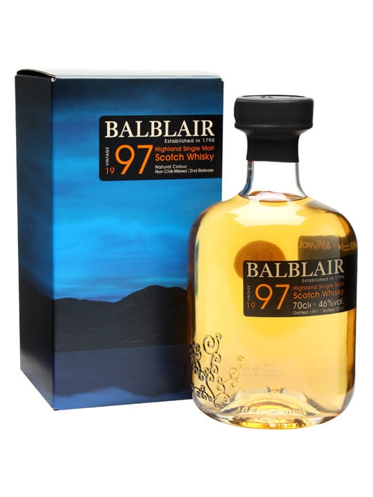 Balblair 1997 / Bot. 2012 / 2nd Release Highland Single Malt Whisky
