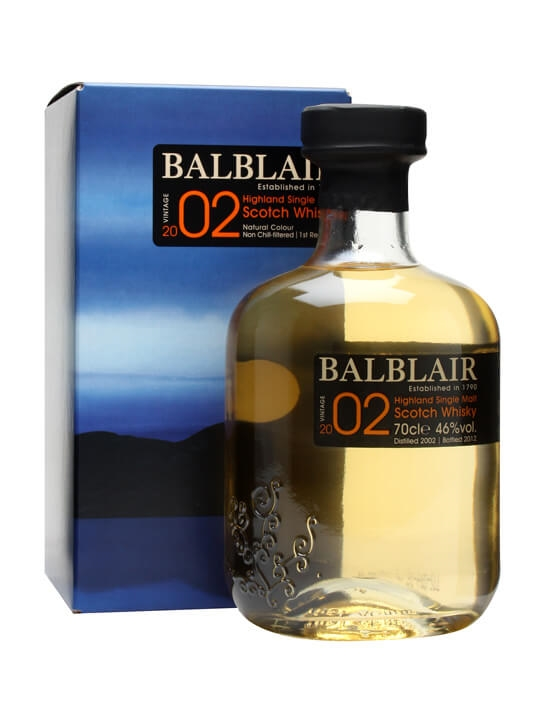 Balblair 2002 / First Release Highland Single Malt Scotch Whisky