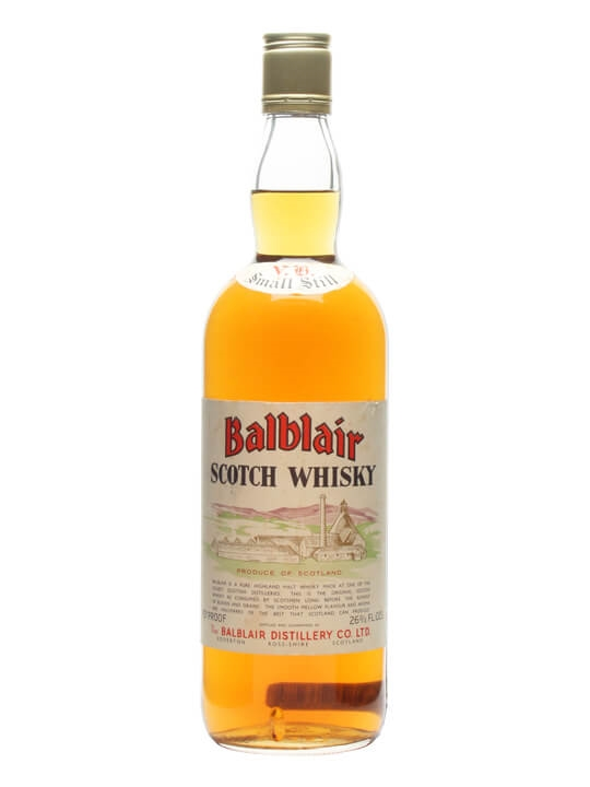 Balblair / Bot.1960s Highland Single Malt Scotch Whisky