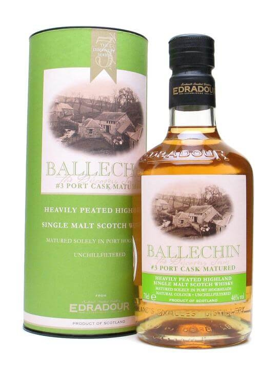 Ballechin / Port Cask Matured Highland Single Malt Scotch Whisky