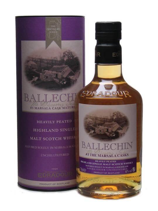 Ballechin 5th Release / Marsala Matured Highland Whisky