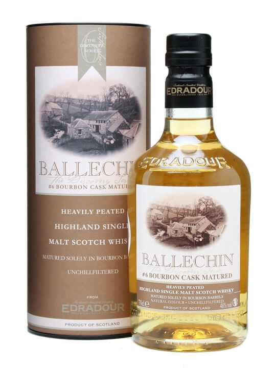 Ballechin 6th Release / Bourbon Cask Matured Highland Whisky
