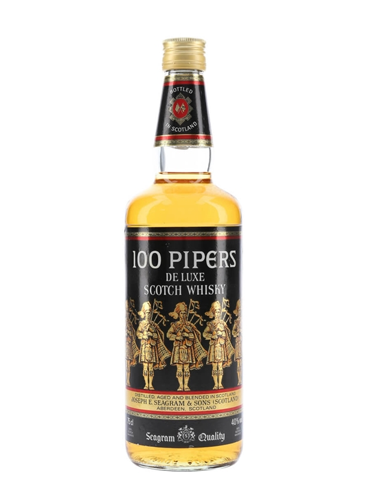 100 Pipers / Bot.1980s Blended Scotch Whisky