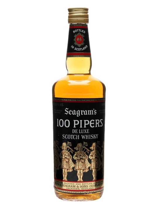 100 Pipers / Bot.1970s Blended Scotch Whisky