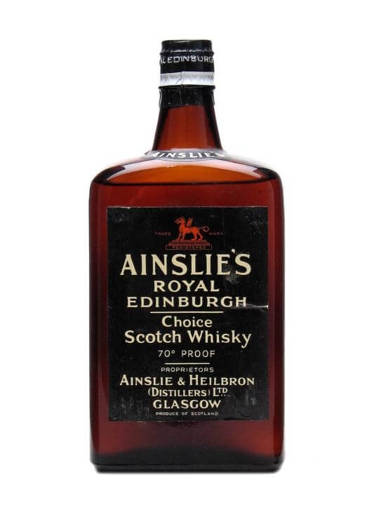 Ainslie's Royal Edinburgh / Bot.1960s Blended Scotch Whisky