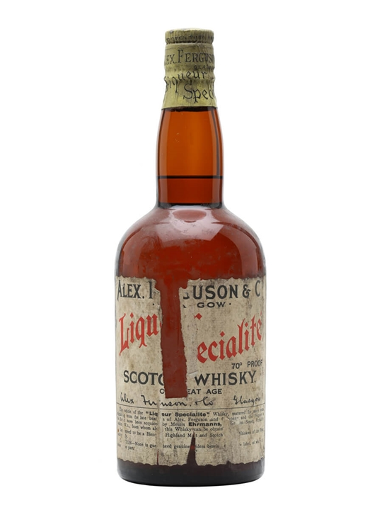 Alex Ferguson Blended Whisky / Bot.1930s Blended Scotch Whisky