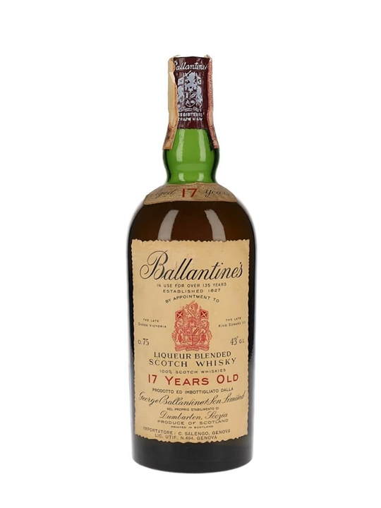 Ballantine's 17 Year Old / Bot.1960s Blended Scotch Whisky