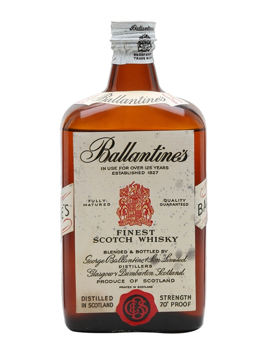 Ballantine's Finest / Bot.1950s Blended Scotch Whisky