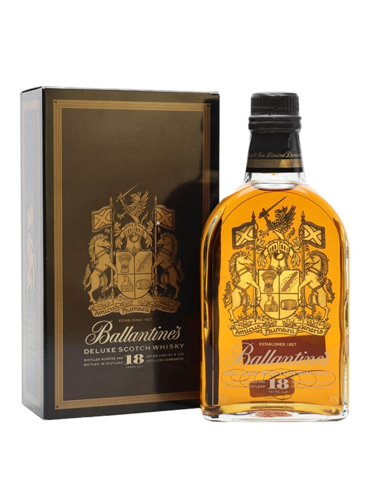 Ballantine's 18 Year Old Deluxe / Bot.1980s Blended Scotch Whisky