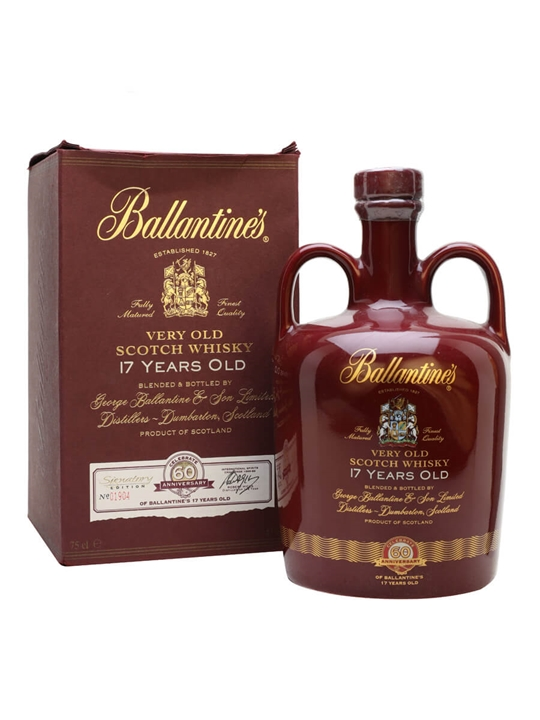 Ballantine's 17 Year Old / 60th Anniversary Ceramic Blended Whisky