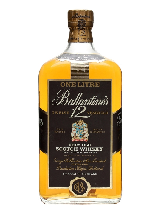 Ballantine's 12 Year Old / Bot.1980s Blended Scotch Whisky