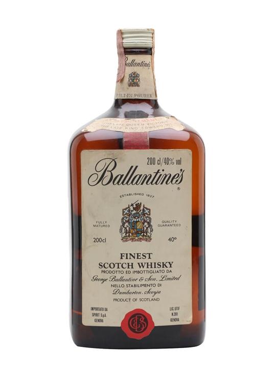 Ballantine's Finest / Bot.1970s / Large Bottle Blended Scotch Whisky