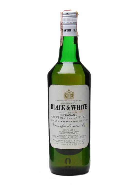 Black & White / Bot.1980s Blended Scotch Whisky