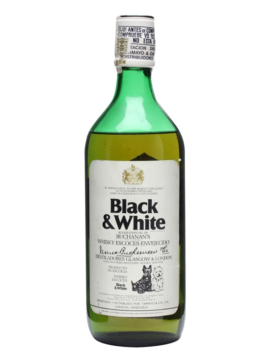 Black & White / Bot.1970s Blended Scotch Whisky