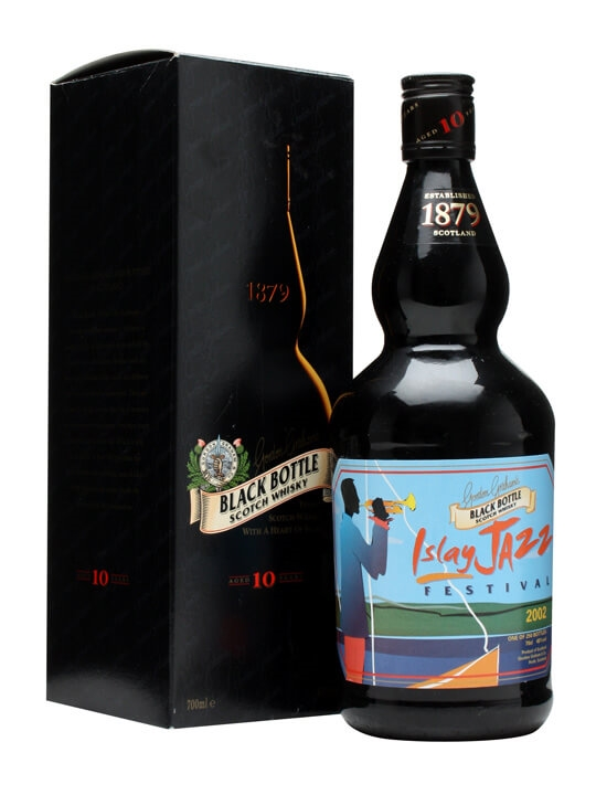 Black Bottle 10 Year Old / Islay Jazz Festival 2002 Blended Whisky