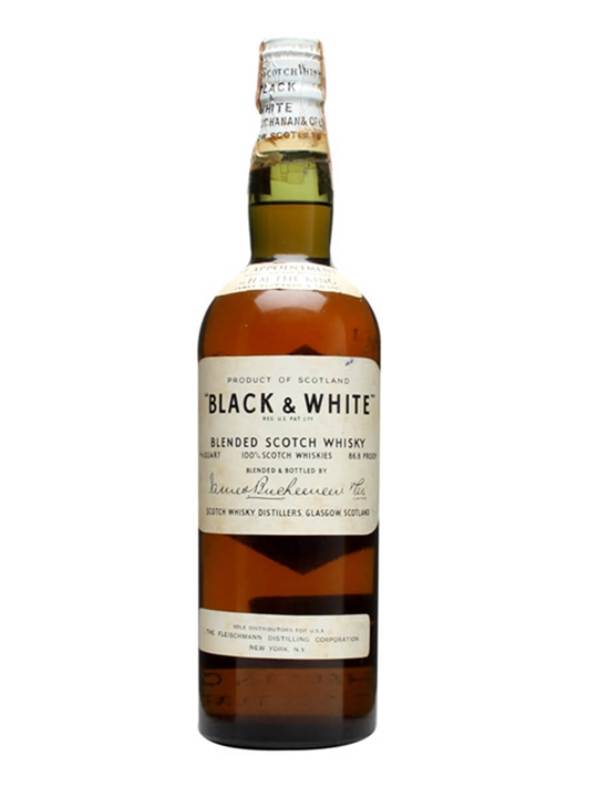 Black & White / Bot.1940s Blended Scotch Whisky
