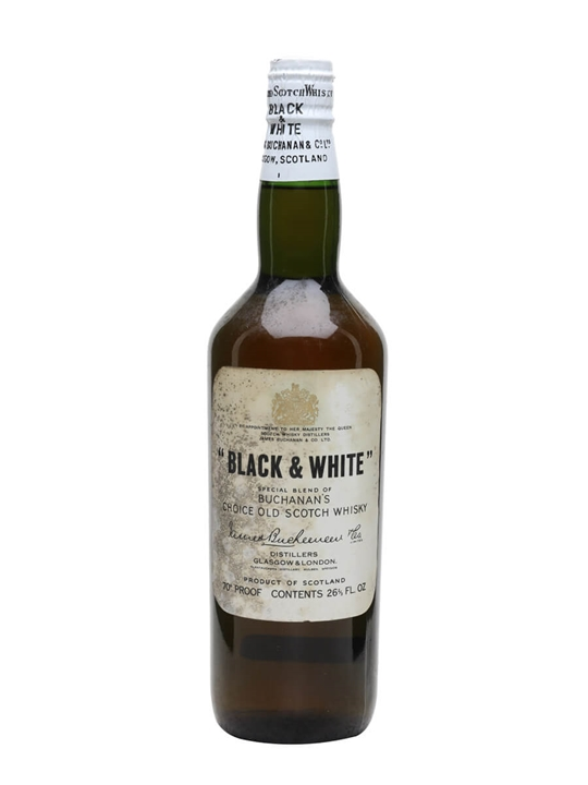 Black & White / Bot.1960s / Spring Cap Blended Scotch Whisky