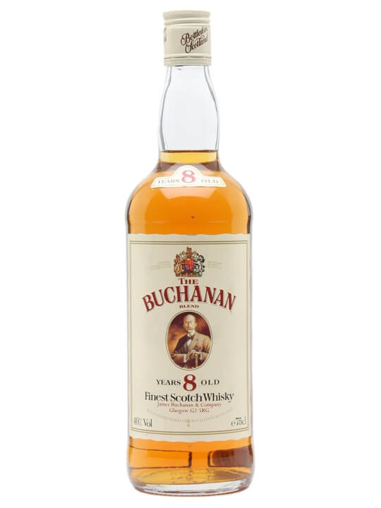 The Buchanan Blend / 8 Year Old / Bot.1980s Blended Scotch Whisky