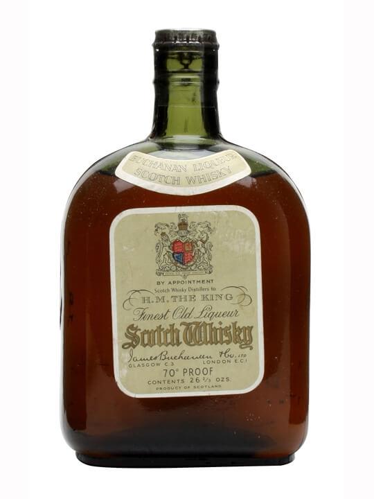 Buchanan Liqueur Scotch Whisky / Bot.1940s Blended Scotch Whisky