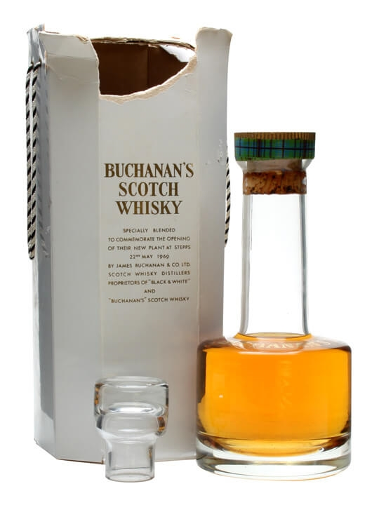 Buchanan's Decanter / Opening Stepps Plant Blended Scotch Whisky