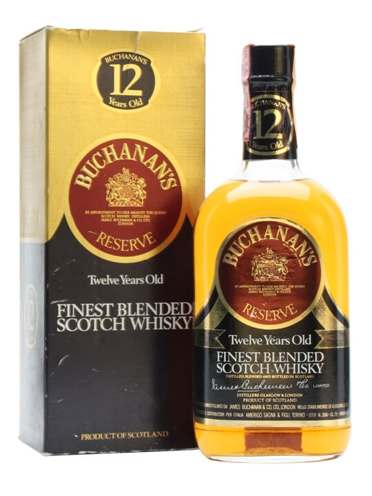 Buchanan's Reserve 12 Year Old / Bot.1970s Blended Scotch Whisky