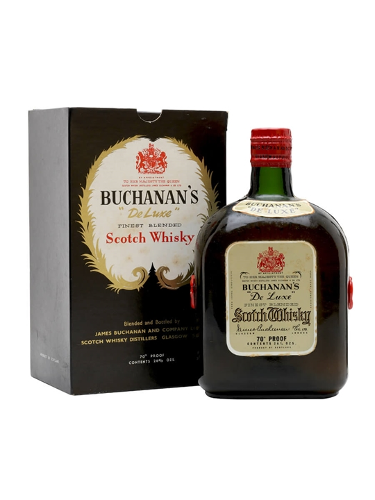 Buchanan's Deluxe / Bot.1950s Blended Scotch Whisky