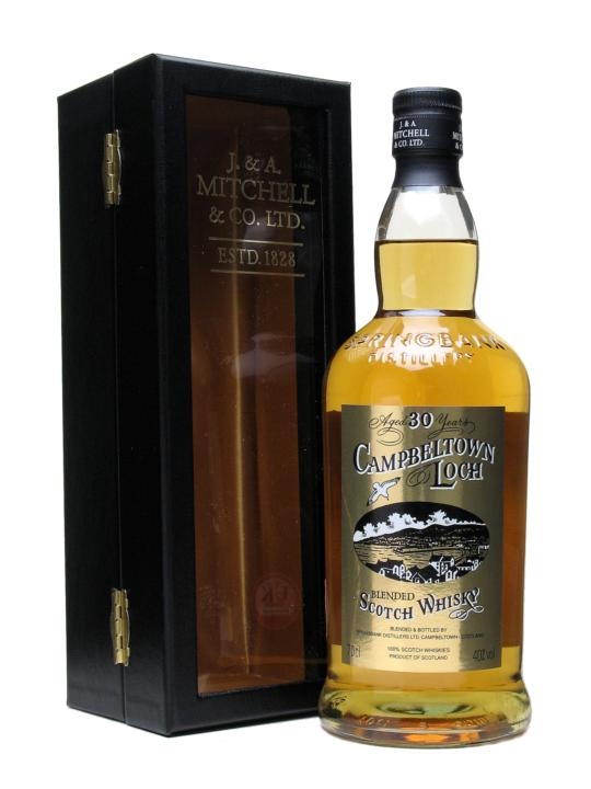 Campbeltown Loch 30 Year Old Blended Scotch Whisky