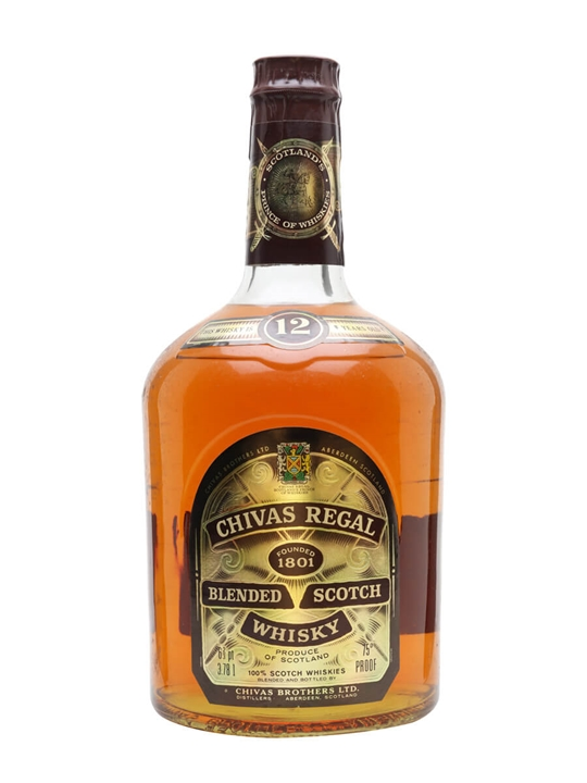 Chivas Regal 12 Year Old / Bot.1980s / Us Gallon Blended Scotch Whisky