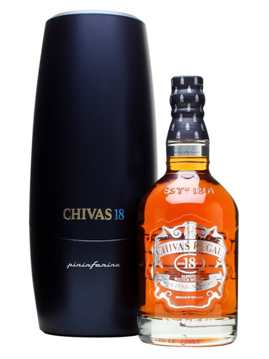 Chivas Regal 18 Year Old Pininfarina / Level 1 Blended Scotch Whisky