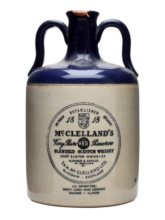 Mcclelland's Very Rare Reserve / Bot.1940s Blended Scotch Whisky