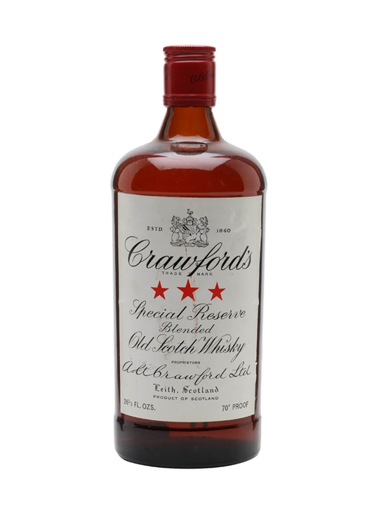 Crawford's Special Reserve / Bot.1970s Blended Scotch Whisky