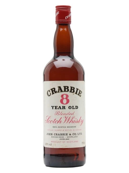 Crabbies 8 Year Old / Bot.1980s Blended Scotch Whisky