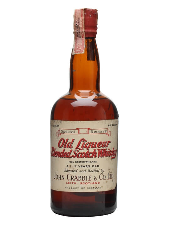 Crabbie's 12 Year Old / Bot.1940s Blended Scotch Whisky
