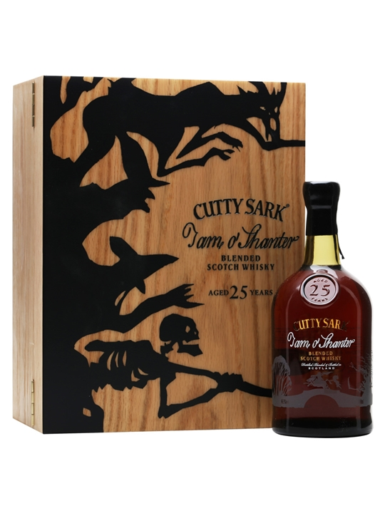 Cutty Sark Tam O'shanter / 25 Year Old Blended Scotch Whisky