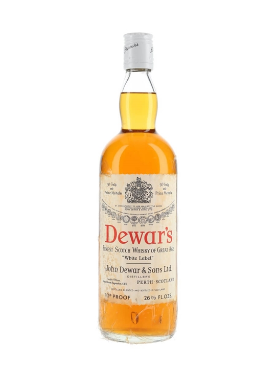 Dewar's White Label / Bot.1970s Blended Scotch Whisky