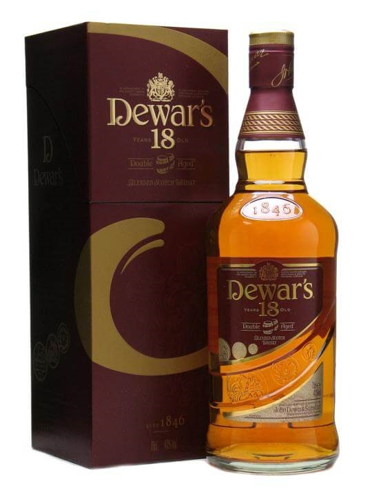 Dewar's 18 Year Old / Double Aged Blended Scotch Whisky