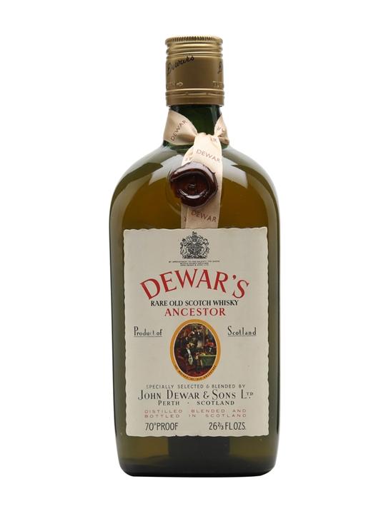 Dewar's Ancestor / Bot.1970s Blended Scotch Whisky