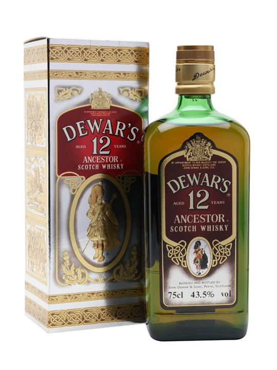 Dewar's Ancestor 12 Year Old / Bot.1980s Blended Scotch Whisky