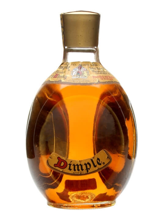 Dimple / Bot.1970s / Half Bottle Blended Scotch Whisky