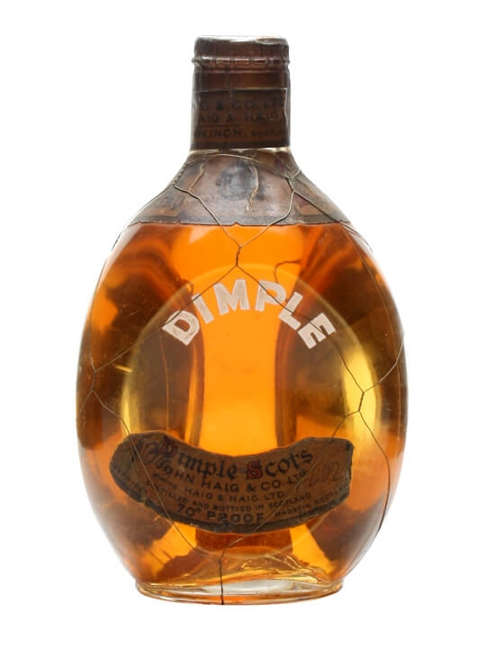 Dimple / Bot.1950s / Spring Cap / Small Bottle Blended Scotch Whisky