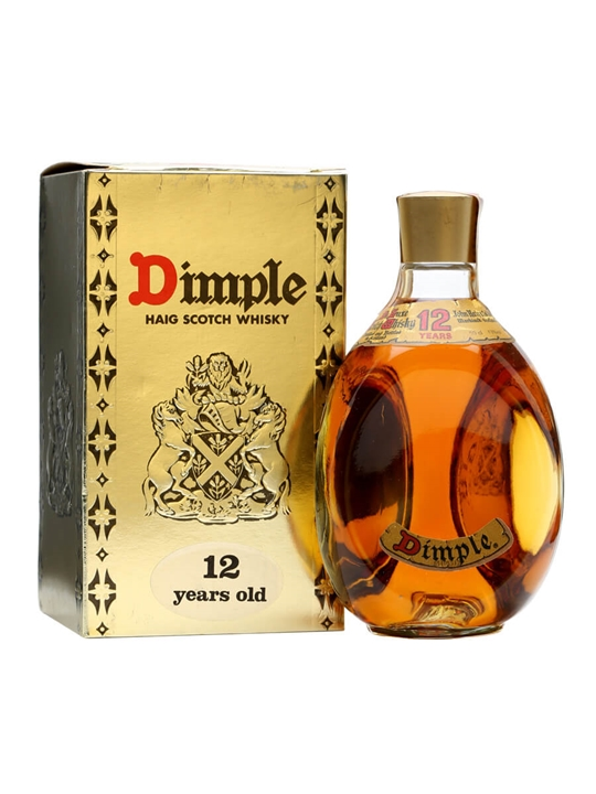 Dimple 12 Year Old / Bot.1980s / Half Litre Blended Scotch Whisky