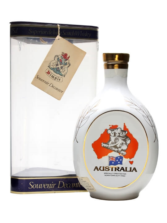 Dimple 12 Year Old Australia Decanter Blended Scotch Whisky