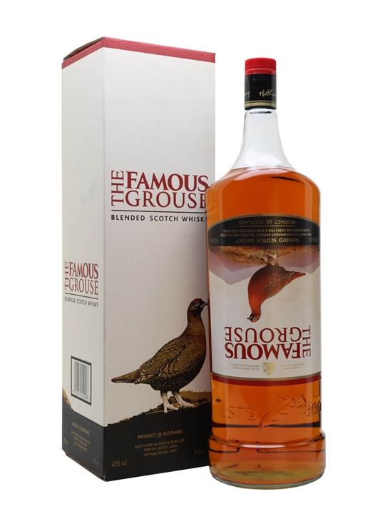 Famous Grouse / Bar Bottle Blended Scotch Whisky