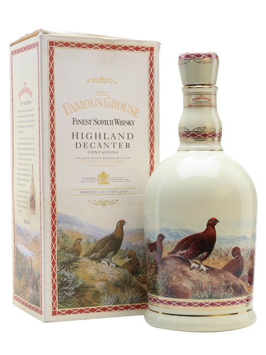 Famous Grouse Highland Decanter Blended Scotch Whisky
