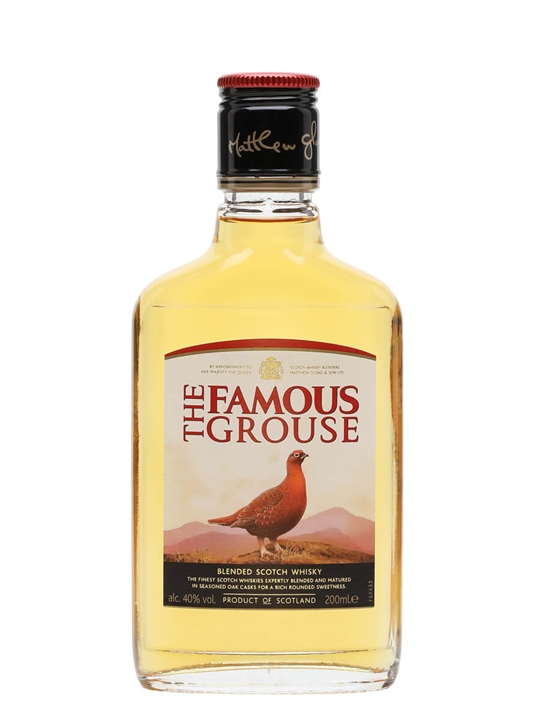 Famous Grouse / Small Bottle Blended Scotch Whisky