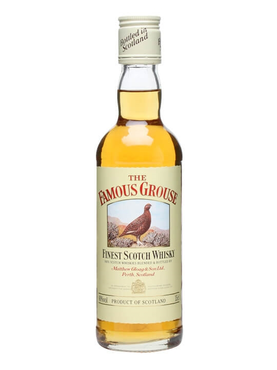 Famous Grouse Half Bottle Blended Scotch Whisky