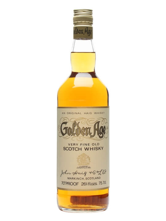 Golden Age Blended Whisky / Bot.1970s Blended Scotch Whisky