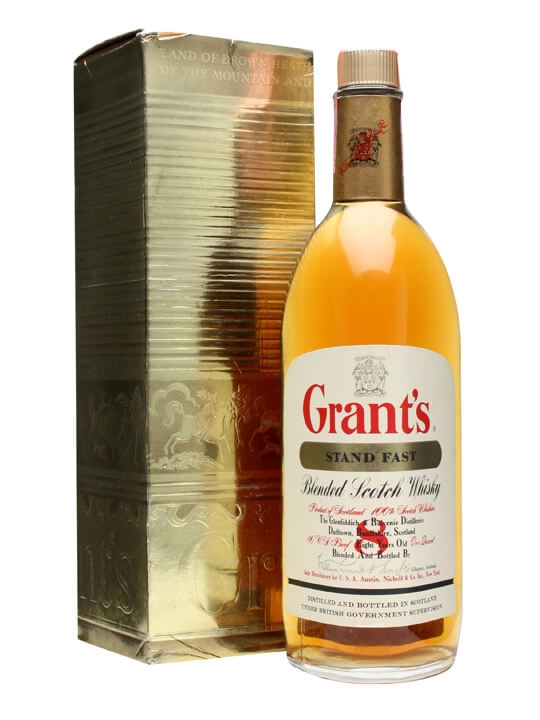 Grant's Stand Fast / 8 Year Old / Bot.1970s Blended Scotch Whisky