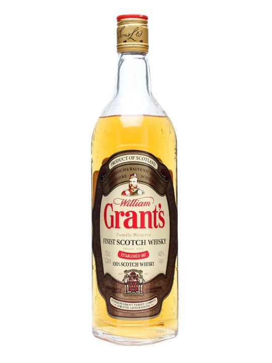 Grant's Family Reserve / Bot.1980s Blended Scotch Whisky